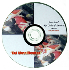 AKCA Koi Classification - DVD