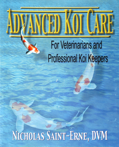 """ADVANCED KOI CARE"" by Nick Saint Erne DVM (spiral-bound)"