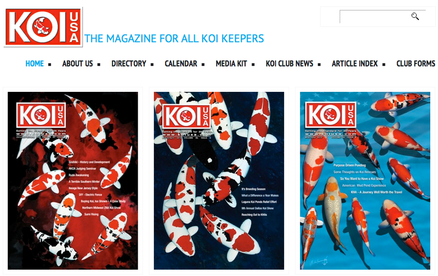 KOI USA magazine